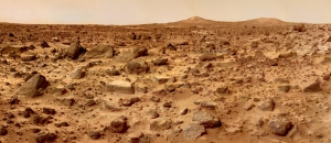 The landing site of the martian probe Pathfinder (© NASA/JPL)