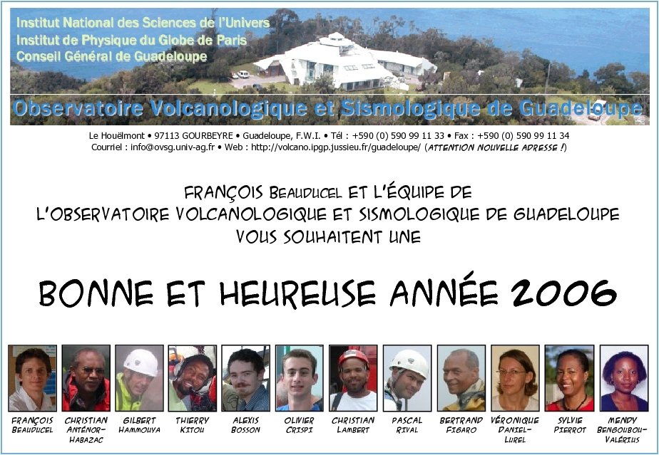 exemple de cv volcanologue